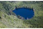 Obr. 8: Prášilské jezero na Šumavě. Prášilské jezero na Šumavě.