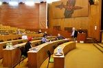 Diskuse s vedením Diskuse s vedením BC se kvůli hygienickým opatřením uskutečnila v kongresové hale.