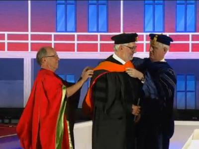 Libor Grubhoffer - video from University of Arizona Commencement ceremonies