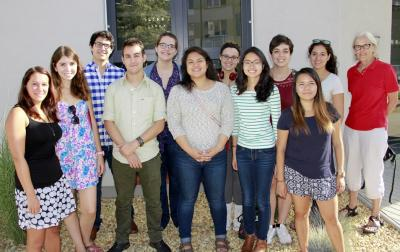Students from Arizona were involved in parasitology research