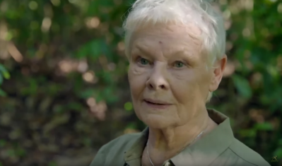 Magical wildlife of Borneo experienced by actress Judi Dench, Bond's M