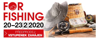 Veletrh FOR FISHING 2020
